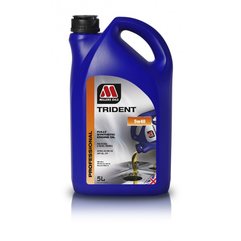 Alyva Millers Oils Trident Longlife 5w40 5L