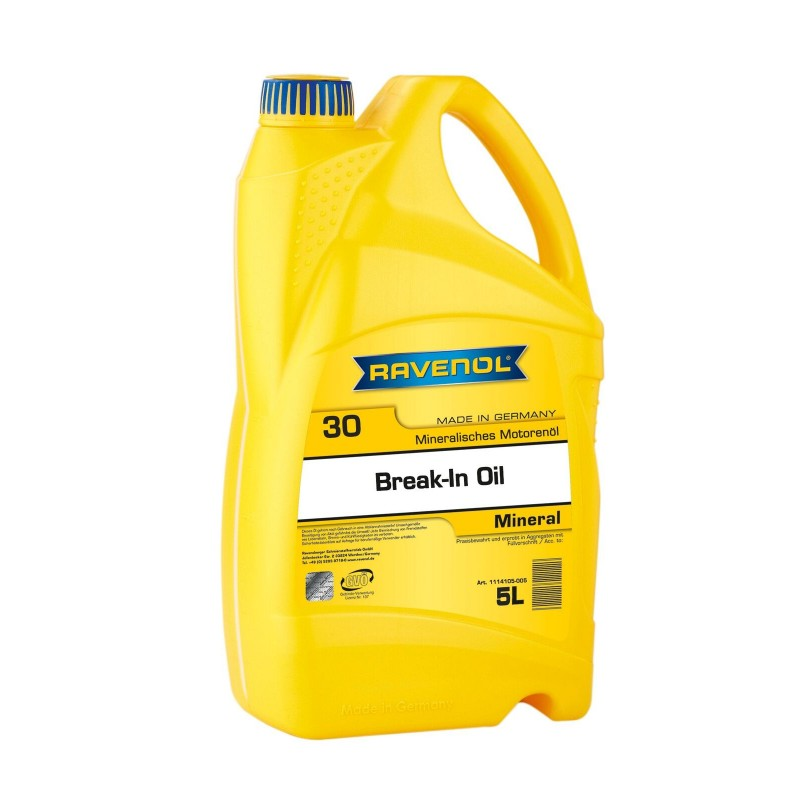 Alyva RAVENOL Break-In Oil SAE 30 5L