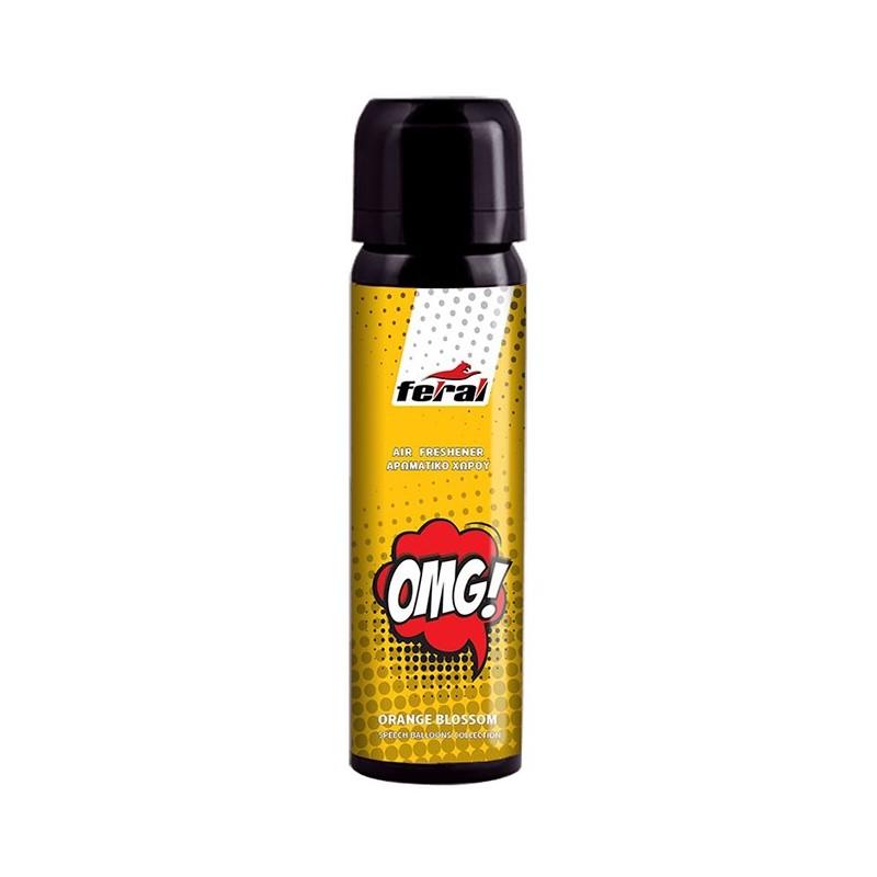 FERAL OMG (Orange Blossom) purškiamas kvapas automobiliui