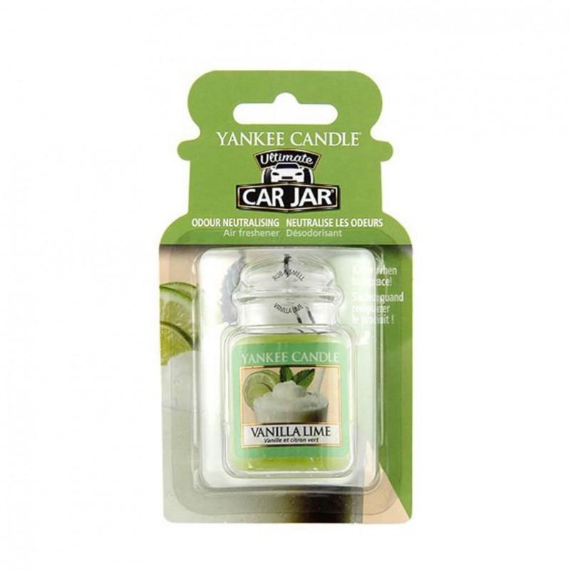Yankee Candle Vanilla Lime kvapas automobiliui