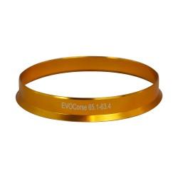 Centravimo žiedas 65.1mm - 63.4mm, aliuminis