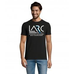 Vyriški marškinėliai LARČ, juodi